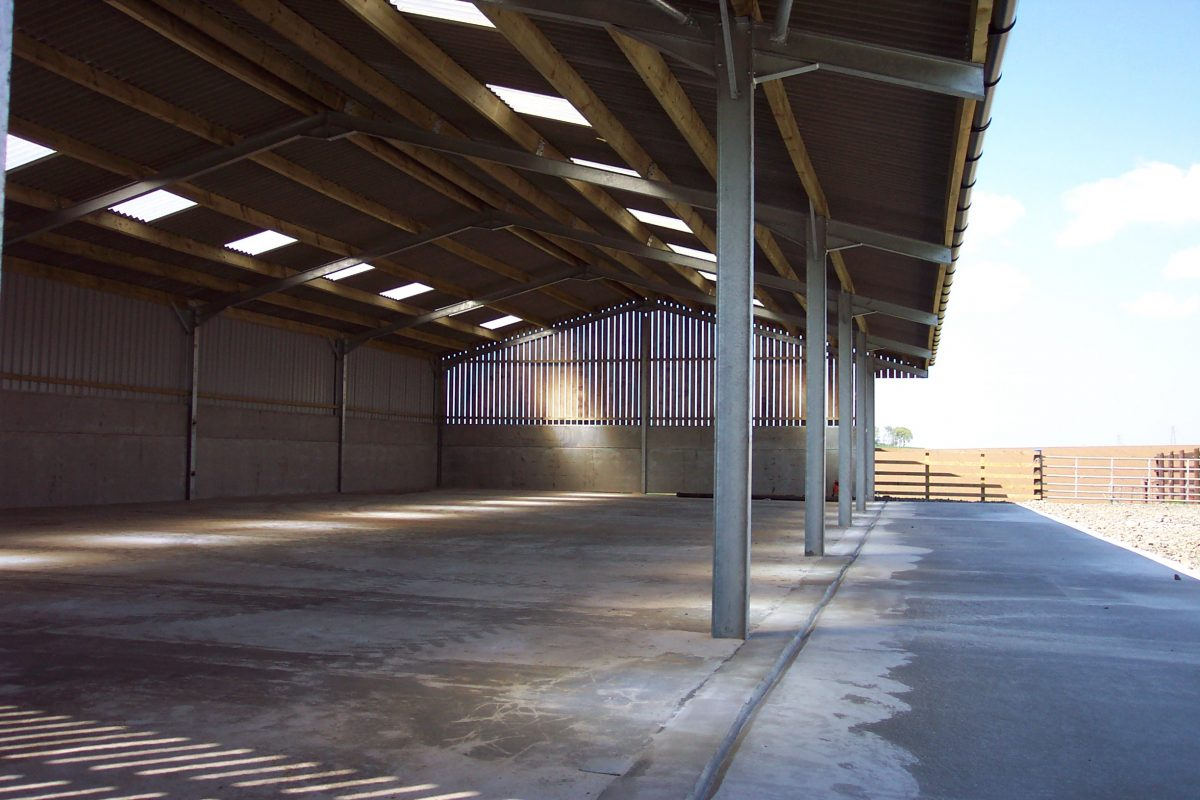 Standard Steel-Framed General Purpose Building by Robinsons Agricultural